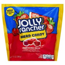 Jolly Rancher Awesome Reds Hard Candy 13 OZ (Pack of 8) + (10 Pack of M&... - $88.95