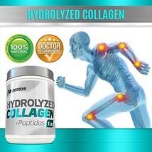 Collagen Powder Peptides Unflavored Hydrolyzed Collagen Grass-Fed Non-GM... - $30.85