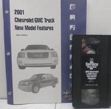 2001 Chevrolet & GMC Truck New Model Features, VHS Training Program ^ - $4.79