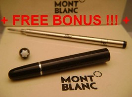 Replacement spare Parts Pen Barrel for Montblanc 163 Black & Silver + Bo... - $64.14