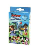 Disney Junior Lenticular Playing Cards Go Fish Crazy 8 Rummy Princess Mi... - $7.42