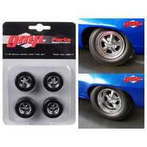 Wheels and Tires Set of 4 pieces from 1969 Chevrolet Camaro 1320 Drag Ki... - $26.56