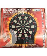 Best Sporting Electronic Dartboard Q6-89C with Cricket - 65 game variants - $42.52