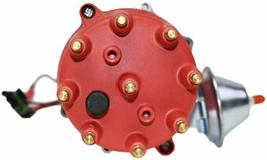 Pro Series R2R Distributor for Chevrolet SBC BBC with Fixed Collar Red Cap image 4