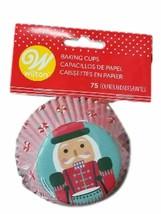 Nutcracker 75 Ct  Baking Cups Cupcake Liners Wilton - $3.65