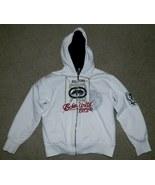 Women's White Jacket with Hood ECKO UNLTD. Brown Pile Lining Medium (10-... - $30.00