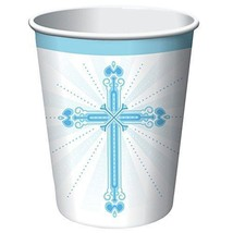 18-Count Blessings Blue Hot or Cold Beverage Cups, 18 Count - $4.55
