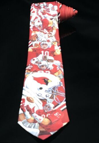Arizona Cardinals NFL Football Neck Tie (Ralph Marlin & Co.) 1990