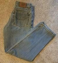 Vtg CHAPS Mens Denim Jeans Size 30x30(30x28) Classic Fit 5-Pocket Med Wa... - $25.21