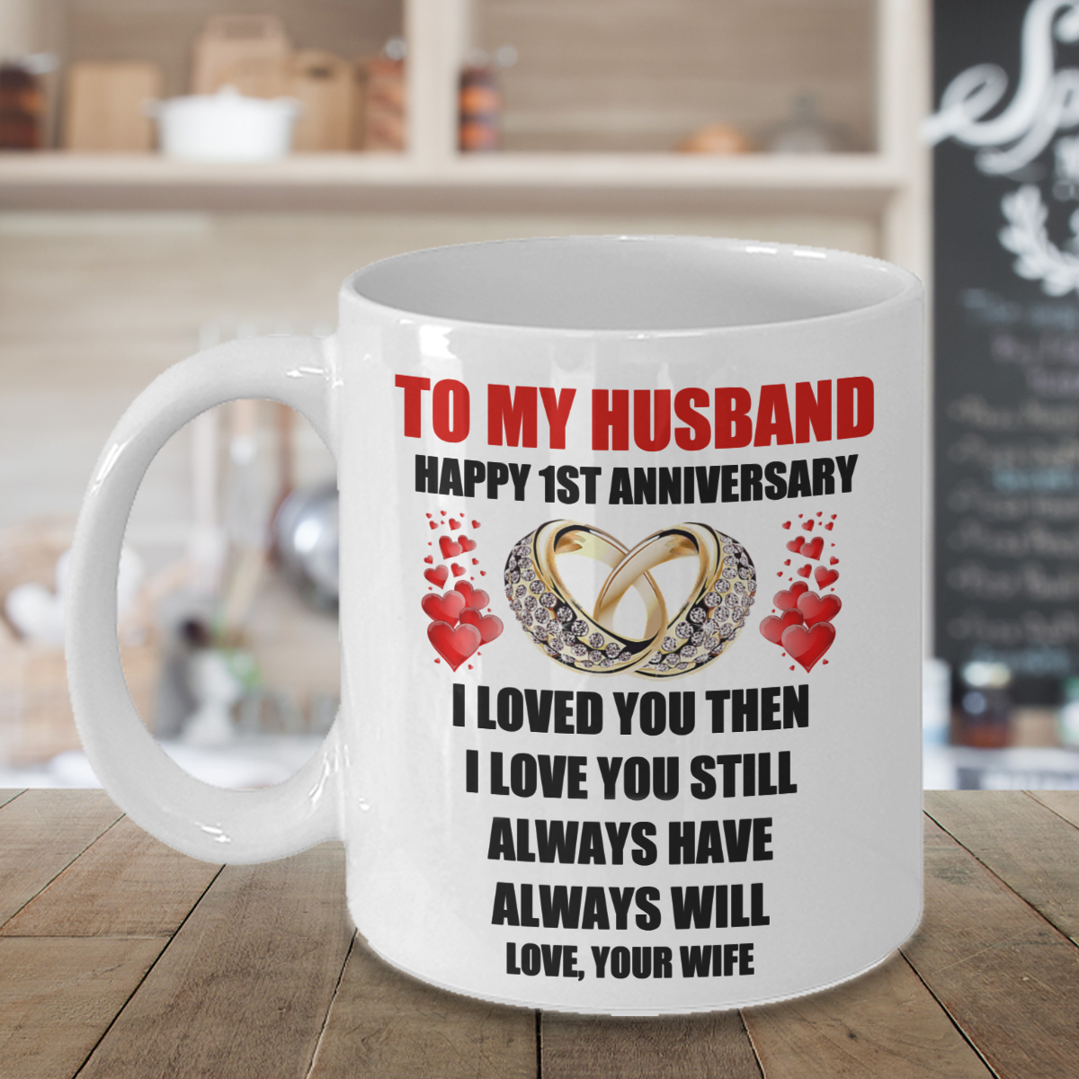 1st 10th 15th 2nd 3rd 4th 5th Wedding Anniversary Customised Gift For Husband