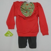 Snopea Sweat Suit 18 months Hoodie Pants Red Green Skateboard Theme image 2