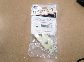 Lot of 10 Hubbell NS783I NetSelect Decorator Frame F-Con & Jack, 6POS 4C... - $25.00