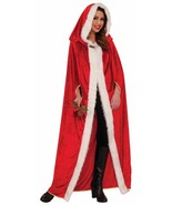 Forum Novelties Elegant Christmas Cape Mrs Claus Santa Holiday Costume 7... - $40.24