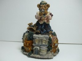 1997 Boyds Bears Bearstone The Collector Musical Box Playing My Favorite... - $14.80
