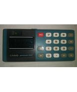 Vintage Mid-Century Modern Casio Personal-Mini Green Pocket Calculator C... - $22.76