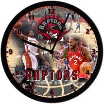 "Toronto Raptors Homemade 8"" NBA Wall Clock w/ Battery Included - $23.97"