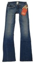 True Religion Women's Denim Jeans Joey Leather Pocket 83 - Med Savana 10503VNL image 2