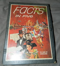 Facts In Five Vintage Game-Complete - $16.00