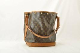 LOUIS VUITTON Monogram Noe Shoulder Bag M42224 LV Auth 9607 **Tobacco - $210.00