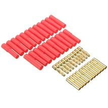 Banana Plugs Red Housing Rc Connector Socket Gold Plated 4mm Bullet Conn... - $9.99