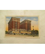 Indiana Postcard Mc Curdy Hotel Evansville IN  - $5.99