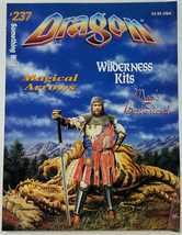 TSR Dragon Magazine #237 Magical Arrows Wilderness Kits Roleplaying Games - $14.50