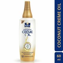 Pack of 2 Parachute Advansed Coconut Crème Oil 60 ml -Makes hair super ... - $11.88