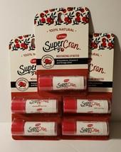 5 Carmex SuperCran Moisturizing Lip Butter 0.15 Oz Each - $13.85