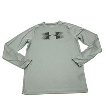 Under Armour HeatGear Dry Fit Shirt Youth Size Extra Large YXL Loose Lon... - $21.63