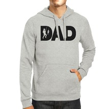 Dad Fish Grey Unisex Hoodie Perfect Gift Ideas For Father In Law - $25.99+