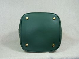 NWT Tory Burch Malachite Green Miller Bucket Tote image 6