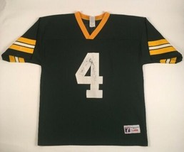 VTG GREEN BAY PACKERS Brett Favre adult LG football jersey NFL 1990s LOGO 7 - $18.95