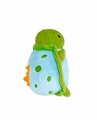 GooseWaddle Plush Turtle Dino Soft Baby Gift Squeezable NEW FS! image 2