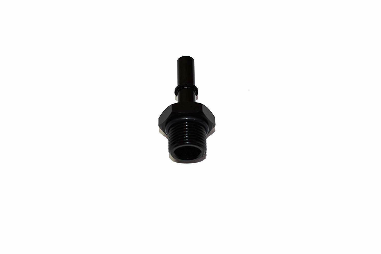 "LS LS1 LS2 LS3 -8 AN Male Thread 3/8"" Male Quick Connect EFI Fuel Rail Adapter"