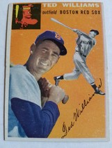 1954 Topps #1 Ted Williams : Boston Red Sox - $308.70
