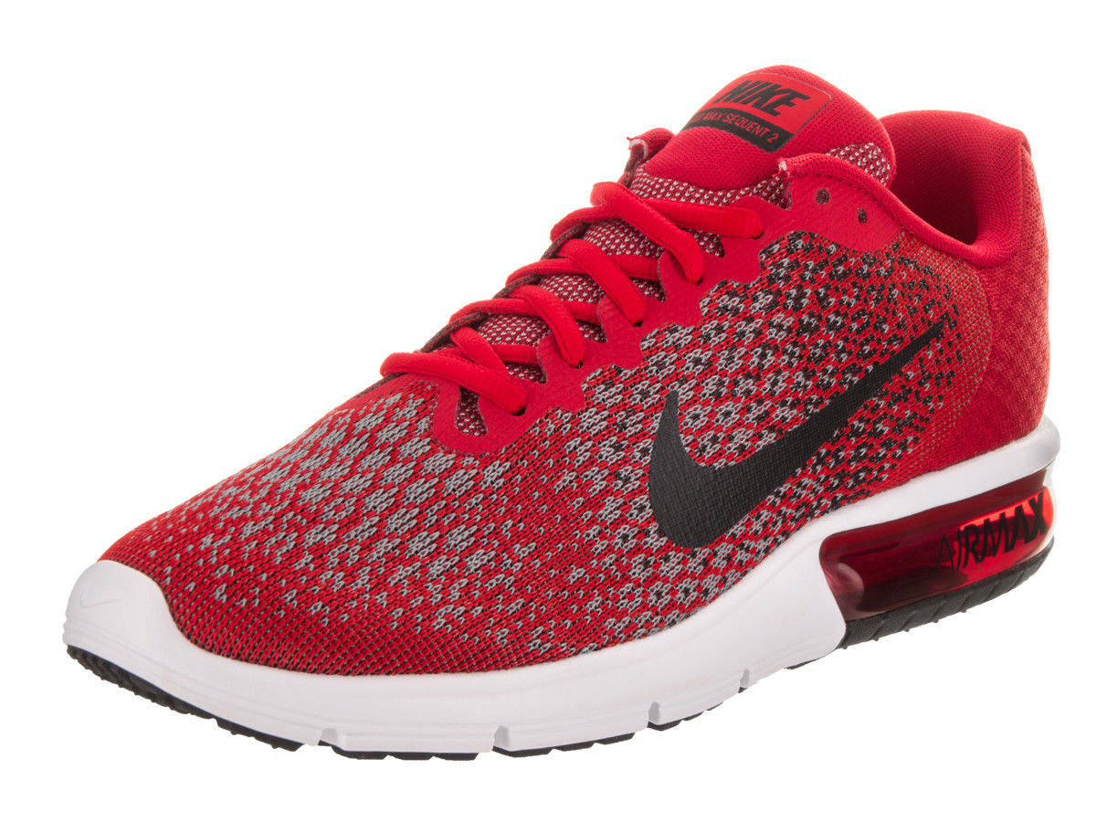 3f91446879af0f Men s Nike Air Max Sequent 2 size 9.5-12 University Red Training Shoes  852461 60