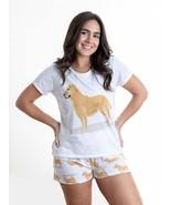 Dog Golden Retriever pajama set with shorts for women - $30.00