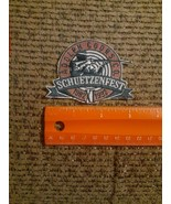 Vintage 1992 Adolph Coors Co. Schuetzenfest Sew or Iron on Patch NEW Rif... - $9.80