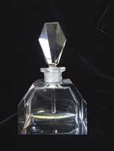 """Vintage Czech Perfume Bottle~Dauber Intact~Signed~3 3/4"""" Tall~Collectibl... - $135.19"""