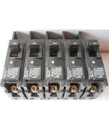 5pc/LOT - SIEMENS BQ1B020 CIRCUIT BREAKER, BQ TYPE, 20A 1POLE 120/240VAC... - $12.77