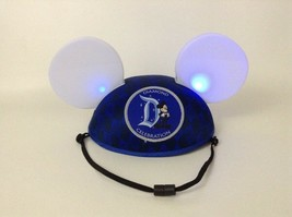 Disney Parks Diamond Celebration Mickey Mouse Light-up Ears Cap Hat Tested - $28.66