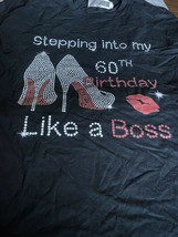 60th birthday shirt Large Fruit Of The Loom New Boss - $11.00