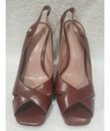 Calvin Klein FABRINA Heels Open Toe Women 9M New - $54.45