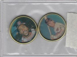 1987 Topps Coins Indians Cory Snyder Joe Carter - $1.71