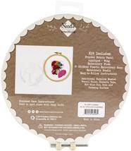 "Fabric Editions Needle Creations 3D Stitch Kits 8""-Flamingo - $13.92"