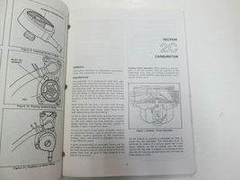 1984 1985 1986 Force Outboards 35 HP Outboard Motors Service Manual STAIN WORN** image 11