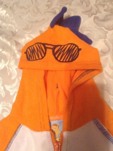 8fe22f9c602 12. 12. Previous. Baby Buns swimwear cover up hoody zipper terry cloth SPF  50 Size 18 mo. boys