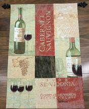 Sonoma Cabernet ~ Cabernet Sauvignon Grande Tapestry Wall Hanging ~ Vill... - $37.99