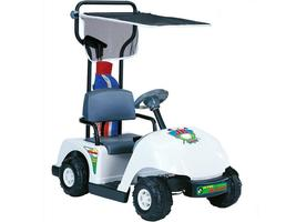 Junior Golf Cart Pro Ride On Battery Operated 6 Volt Max 5 MPH Kid's Ages 3 to 5 image 5