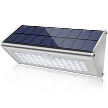 Securoad Super Bright Solar Lights Outdoor Water Proof, 46 LED 1100 Lumens 4500m